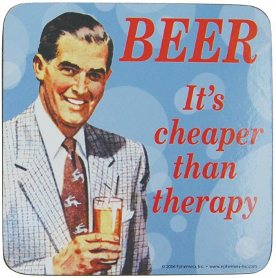 beer and therapy